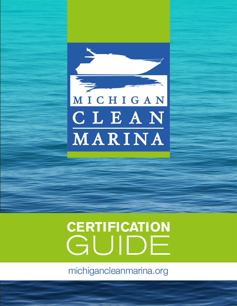 Michigan Clean Marina Certification Guide cover image