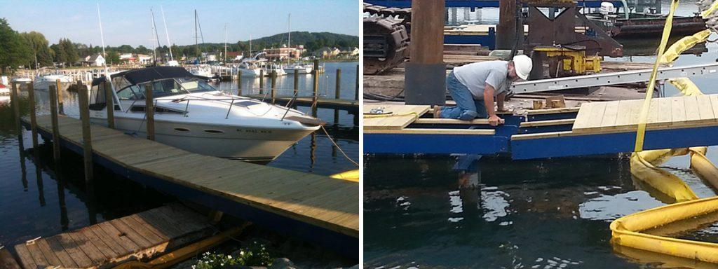 city of boyne city - fixed adjustable docks