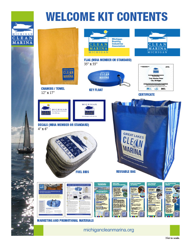 Clean Marina Program Welcome Kit Contents