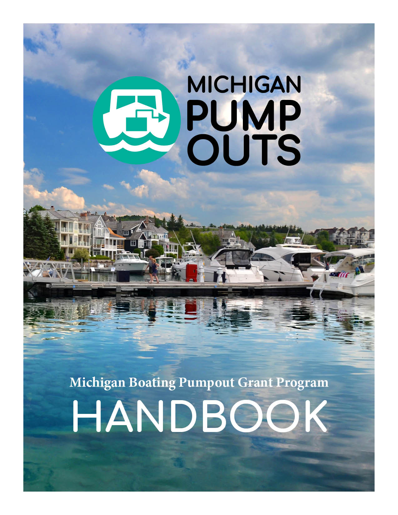 Michigan Pumpouts Handbook cover