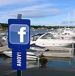 Marina with facebook logo-150px