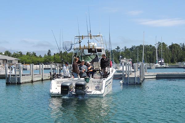 Summer 2014 michigan sea grant for Lake huron fishing report