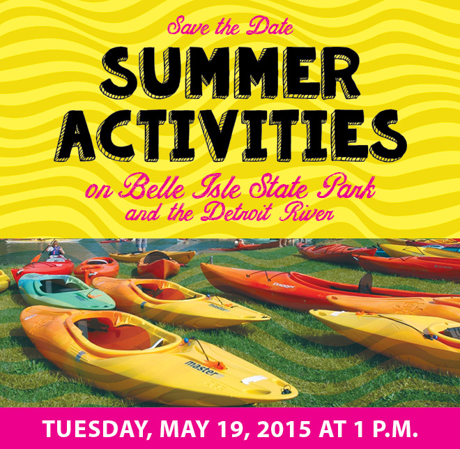 Belle Isle Water Trail Event social