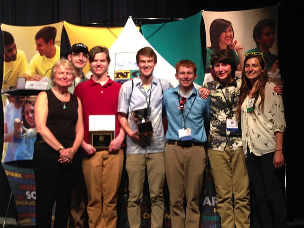 Dexter High school team, coach and regional coordinator
