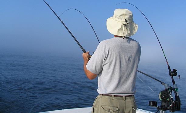 Charter fishing. Photo: Michigan Sea Grant