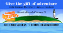 Give the gift of adventure and learning with a Summer Discovery Cruise voucher!
