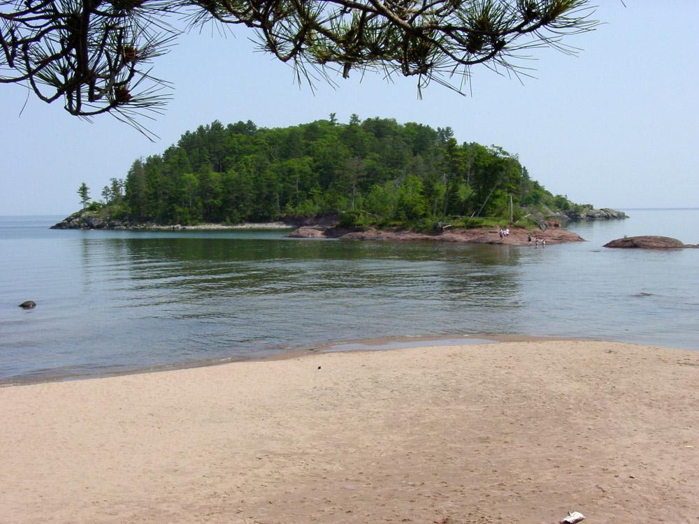 Island near Marquette, MI