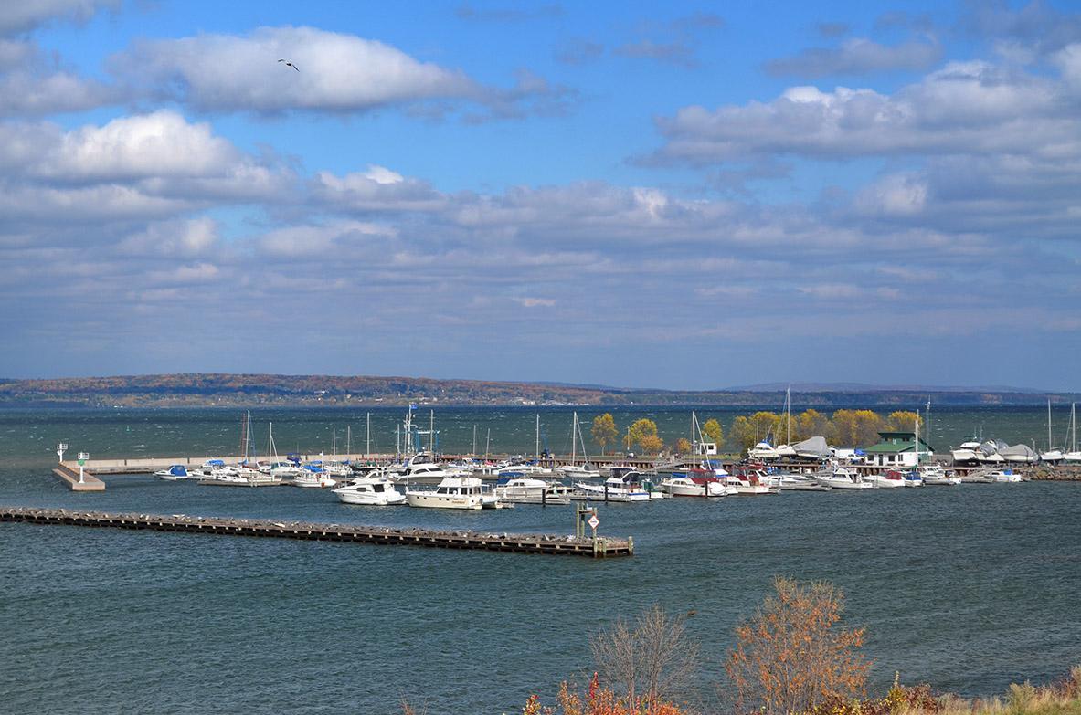 Marina on Lake Superior