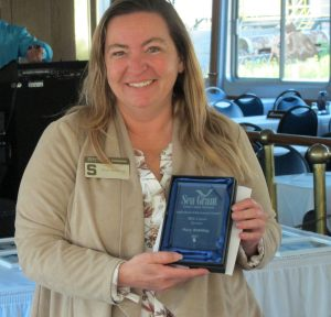 Michigan Sea Grant Extension Educator Mary Bohling receives the Great Lakes Sea Grant Network's mid-career award.