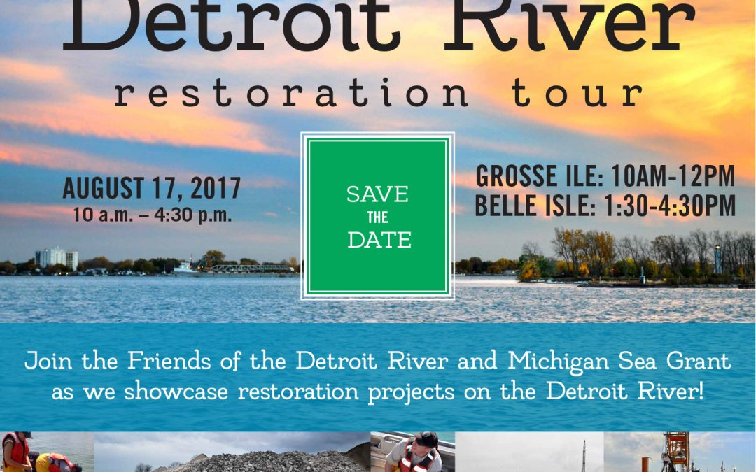 Detroit River Restoration Tour