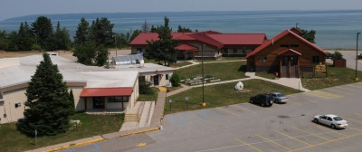 Bay Mills Community College was awarded $216K to help fund research of Waishkey Bay. Photo: Bay Mills Community College