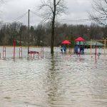 flood Sanford Village Park