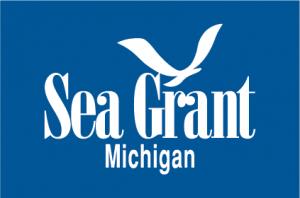 Michigan Sea Grant logo with a boxed background