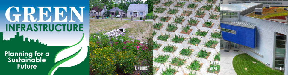 Photos of green infrastructure