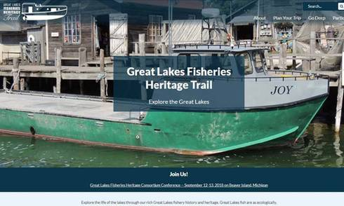 Great Lakes Fisheries Heritage Trail website offers new opportunities