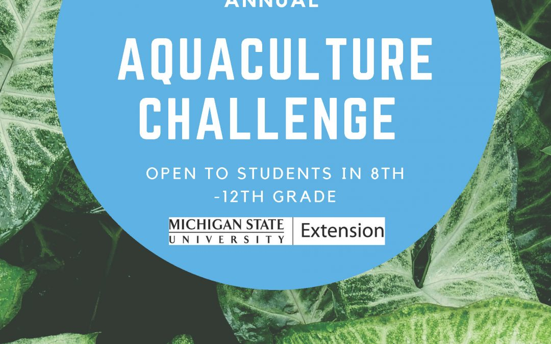 aquaculture challenge flyer