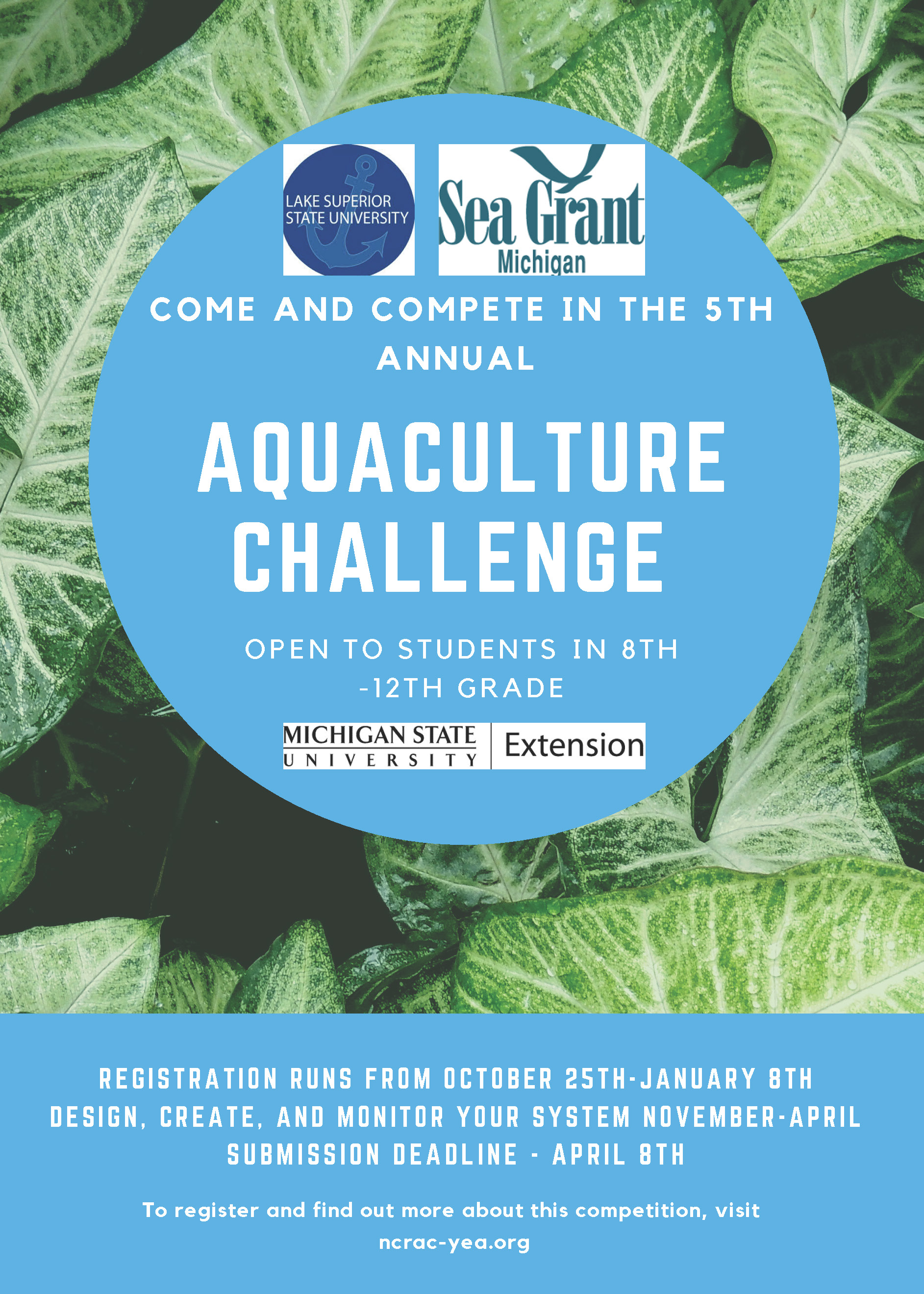 aquaculture challenge flyer