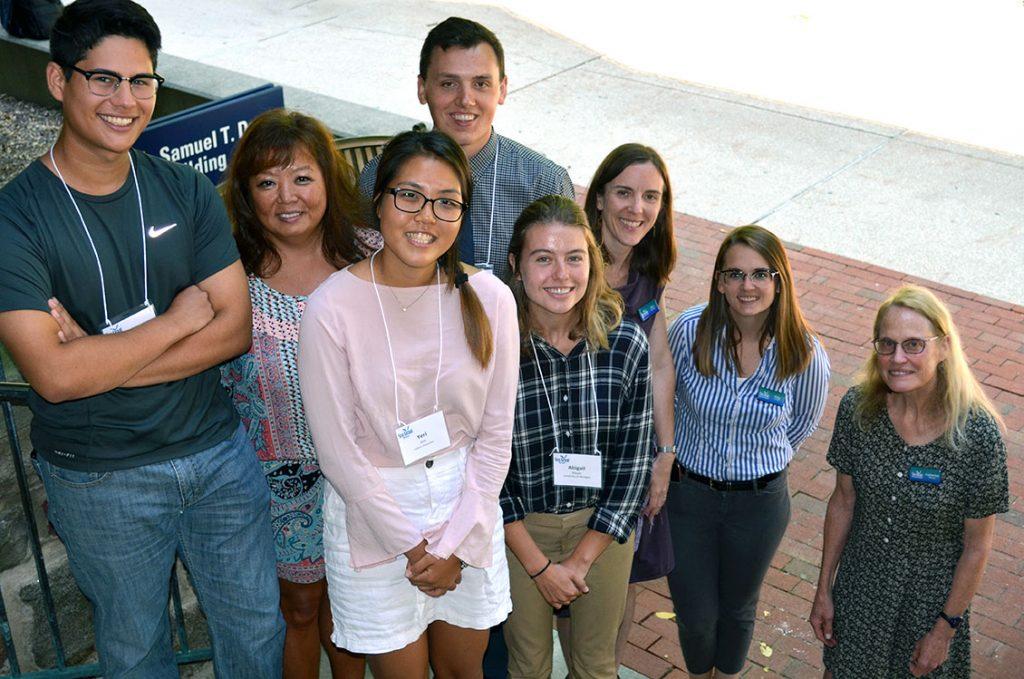 Student group photo for the 2019 Michigan Sea Grant Environmental Internship