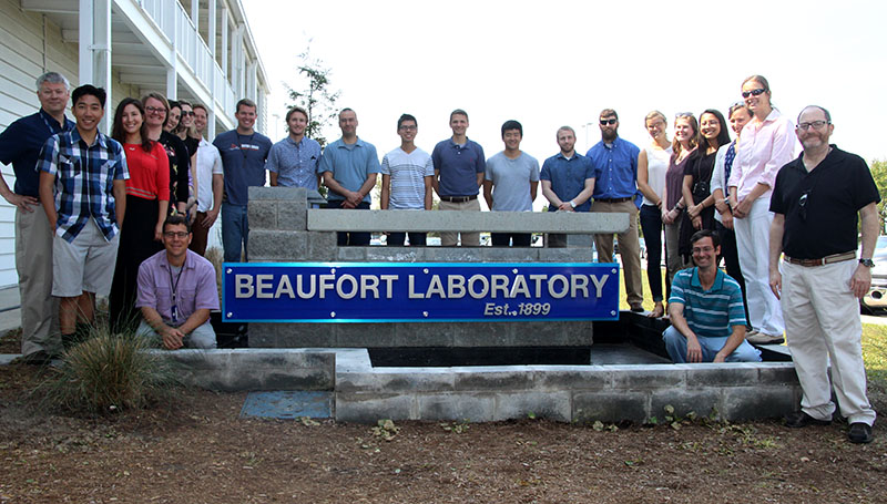NMFS Sea Grant Fellows at Beaufort Lab