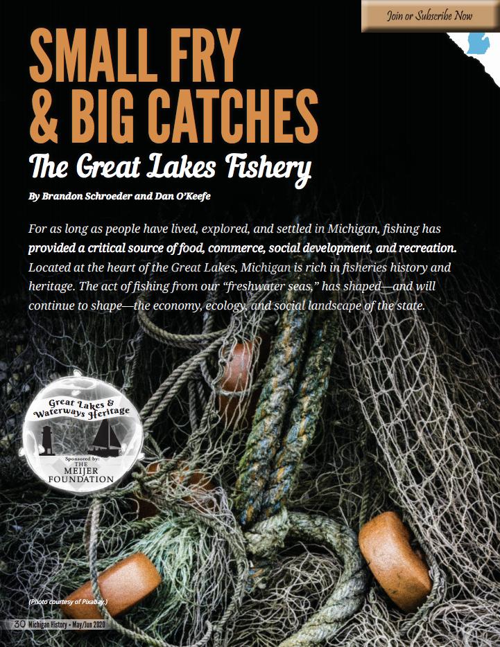 Fisheries article screen shot