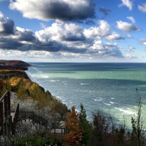 Arcadia Outlook, Lake Michigan