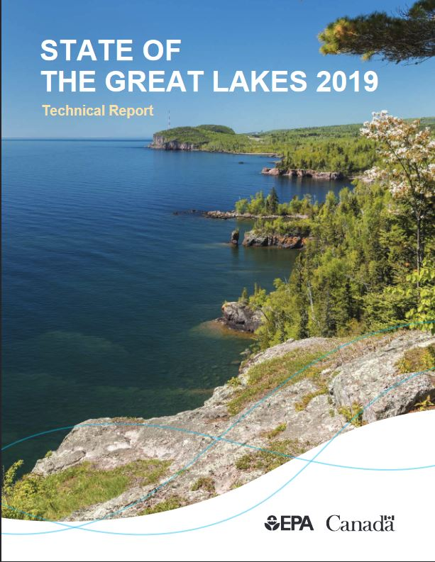 State of the Great Lakes report cover