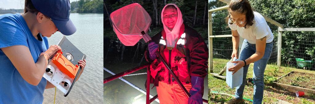 Summer interns clean up Belle Isle